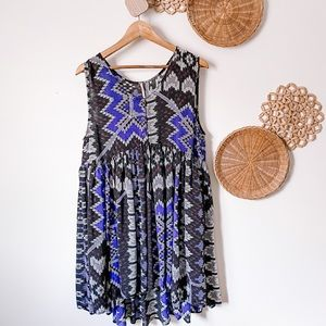 Free people mini dress, SZ M